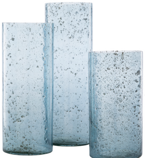 Mist Glass Vases /Set of 3 - Revibe Designs
