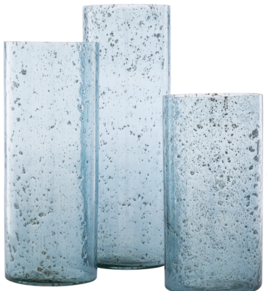 Mist Glass Vases /Set of 3