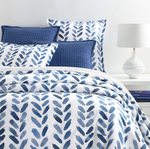 Blue Brush Duvet