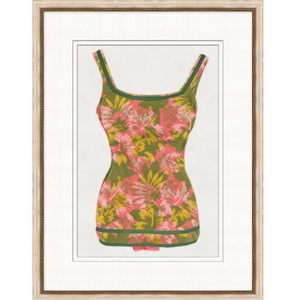 Vintage Bathing Suit 2 Art - Revibe Designs