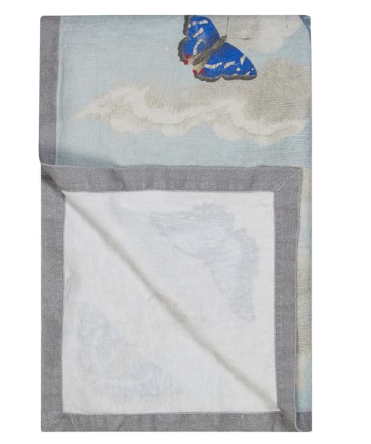 Mirrored Butterflies Sky Throw - Revibe Designs