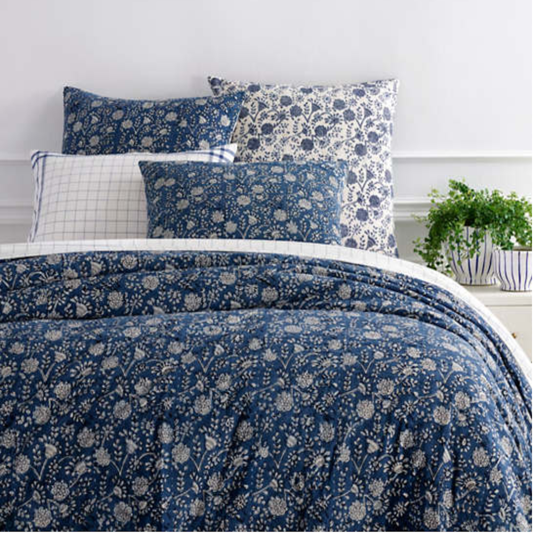 Pasadena Resist Coverlet - Revibe Designs