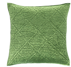 Evergreen Velvet Shams