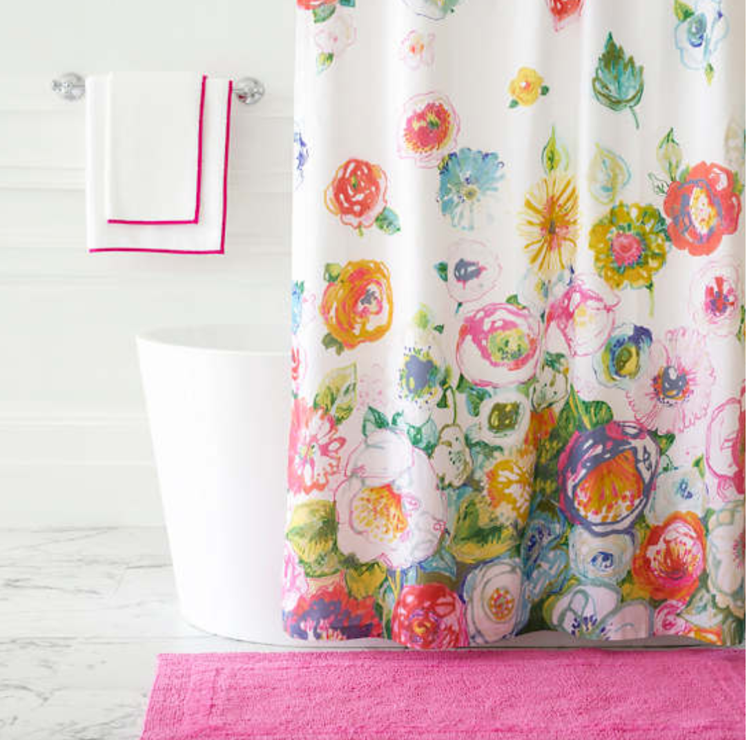 Flower Shower / Shower Curtain
