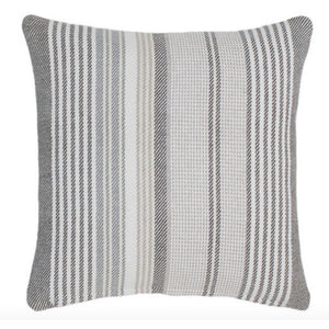 Gradiation Woven Ticking Stripe Pillow - Revibe Designs