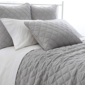 Quilted Silken Coverlet