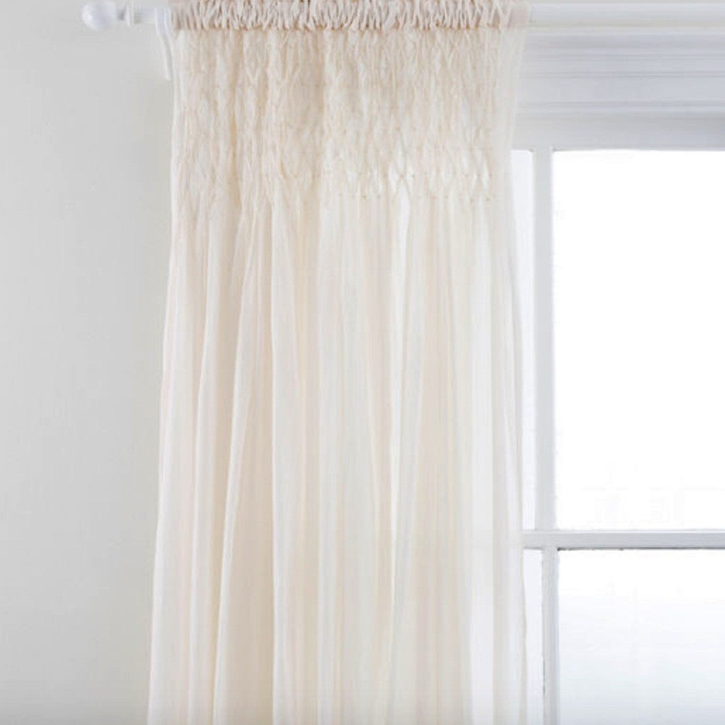 single panels crushed ivory grommet abri curtain panel curtains sheer