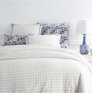 Julian Cobalt Duvet - Revibe Designs