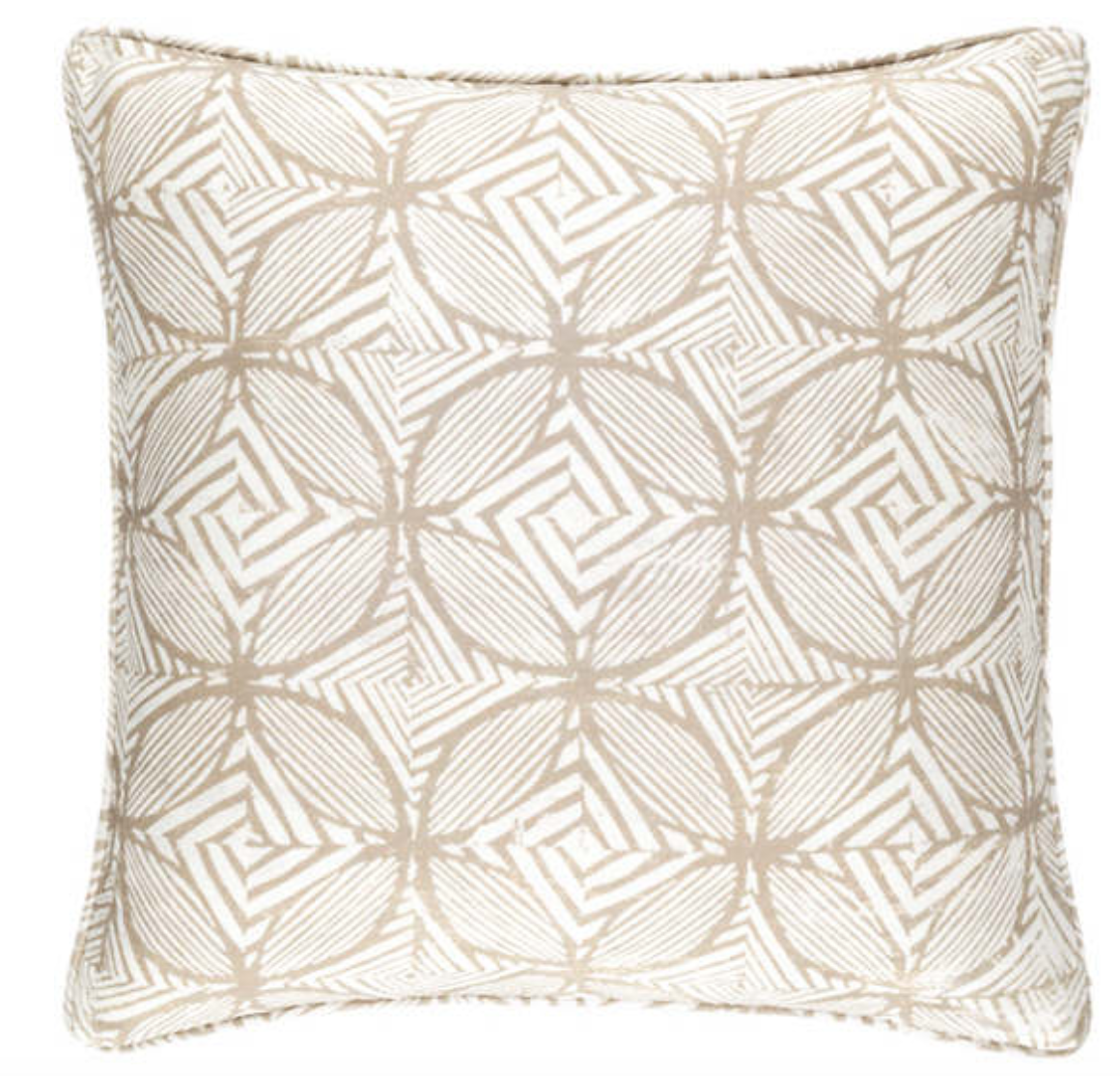 Labyrinth Linen Pillow - Revibe Designs