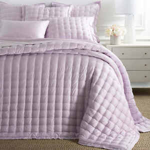 Silken Solid Puff Coverlet - Revibe Designs