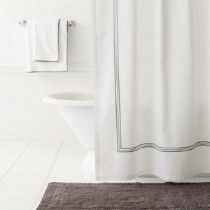 Trio Linen Shower Curtain - Revibe Designs