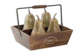 Pears in a Basket - Revibe Designs