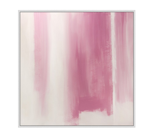 Pink Abstract Art - Revibe Designs