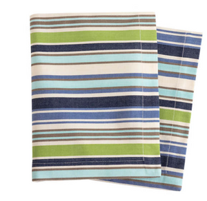 Pond Stripe Napkins Set / 4