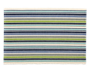 Pond Stripe Placemats Set/4