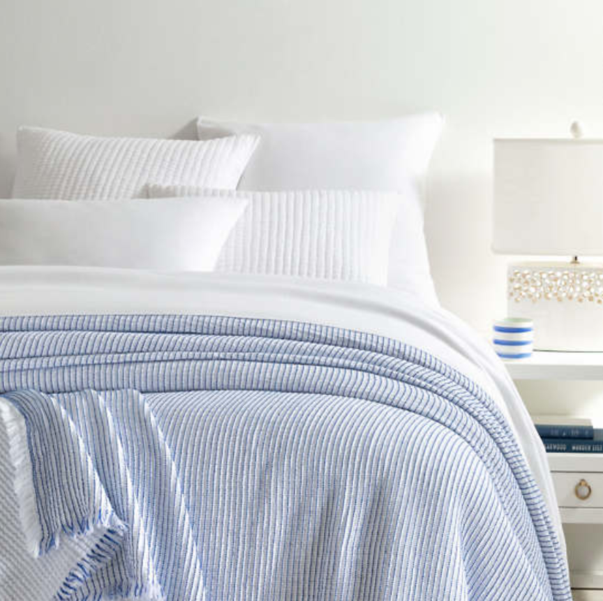 Santo Stripe Coverlet - Revibe Designs