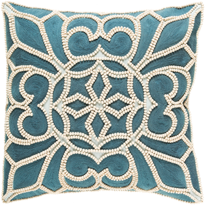 Pastiche Beaded Pillow - Revibe Designs