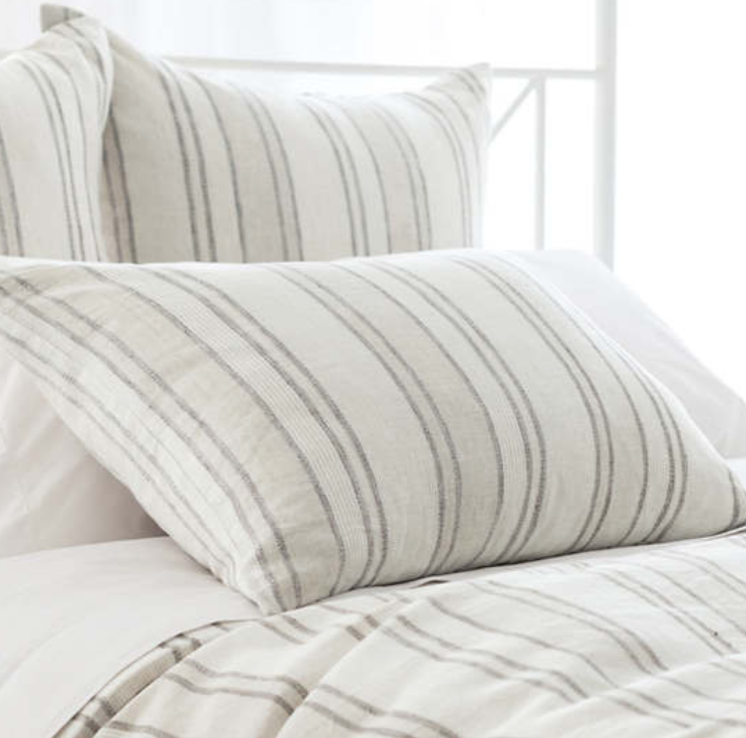 Hampton Ticking Stripe Sham - Revibe Designs