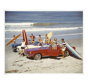 Vintage Beach Party Art