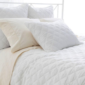 Quilted Silken Coverlet - Revibe Designs