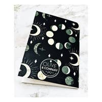 Olive & Company Celestial Moon Phases Journal