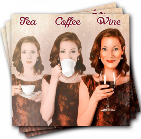 Tea Coffee Wine Napkins