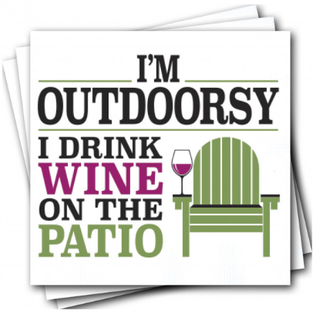 Outdoorsy Napkins