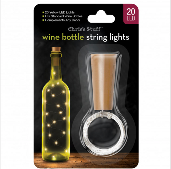 LED Wine Bottle Fairy String Lights