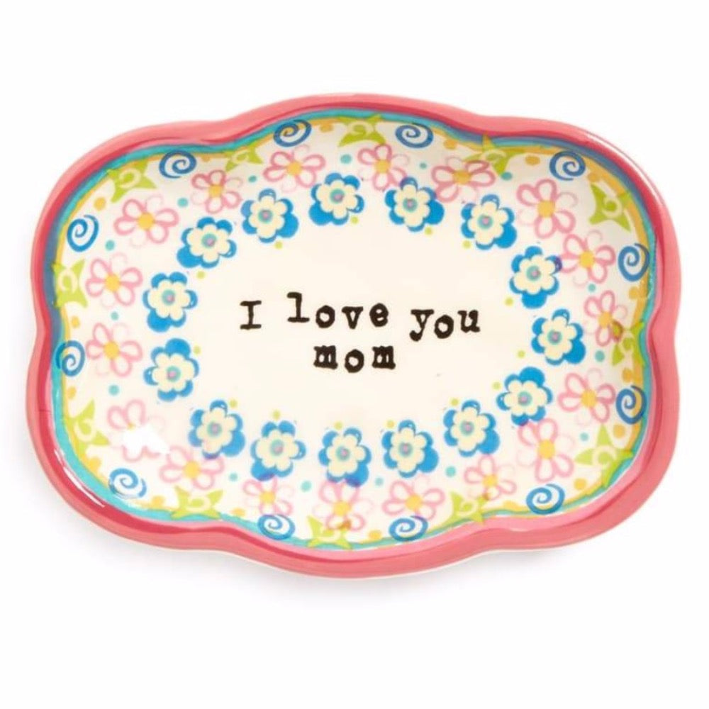I Love You Mom Trinket Dish