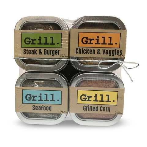 All Natural Grilling Spice Rub Variety Pack