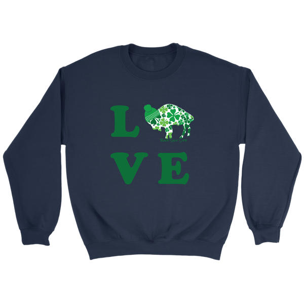 Lucky in BuffaLove Rock Salt Life© Unisex Sweatshirts