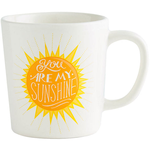 You Are My Sunshine Mug 12 oz Ceramic Mug