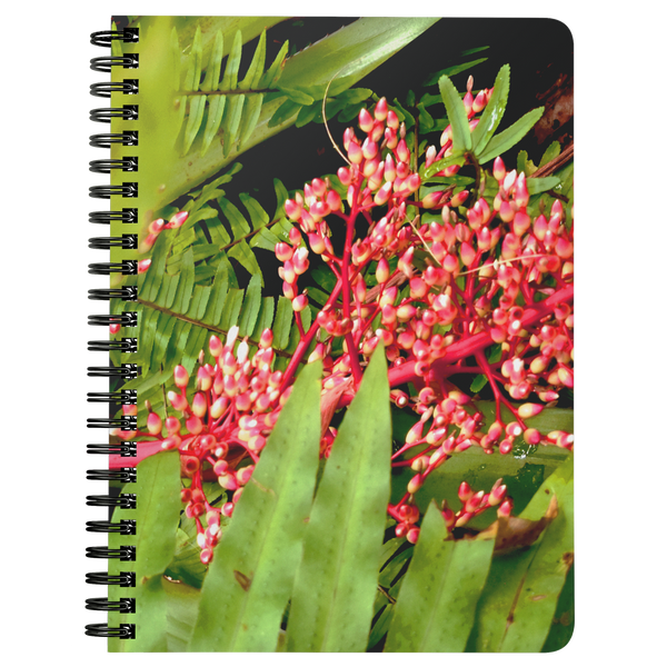 Botanical Garden Print Spiralbound Notebook @eatshoottravel