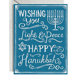 10 pack Happy Hanukkah A2 Cards