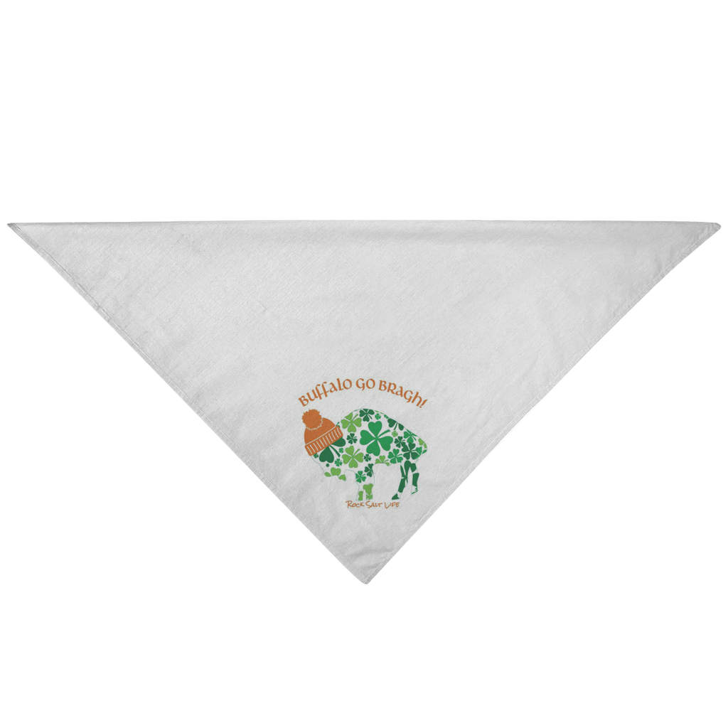 Buffalo Go Bragh Rock Salt Life Pet Bandana-FREE SHIPPING