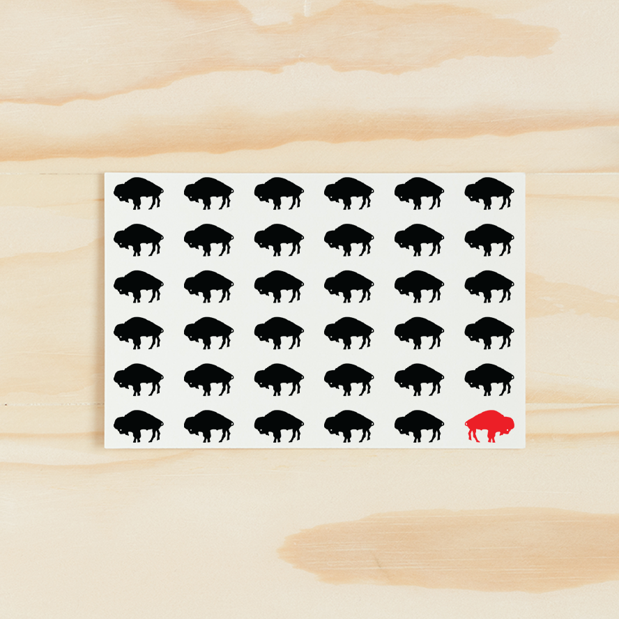 Buffalove Buffalo Notecard Sets