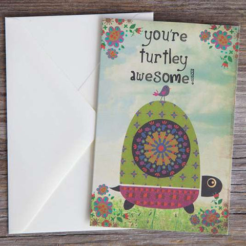 You're Turtley Awesome Greeting Card