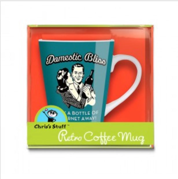Domestic Bliss Retro Wine Mug