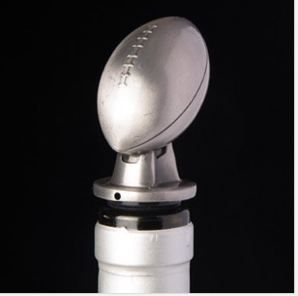Football Bottle Top Pourer and Wine Aerator