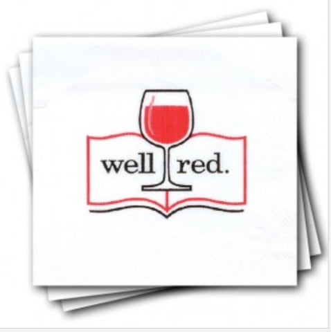 Well Red Napkins