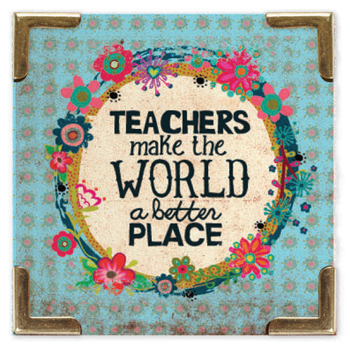 Teachers Make The World A Better Place Magnet