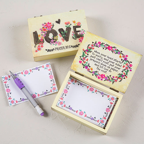 Love Wooden Prayer Box