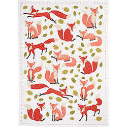 Foxes Tea Towel - Set of 3