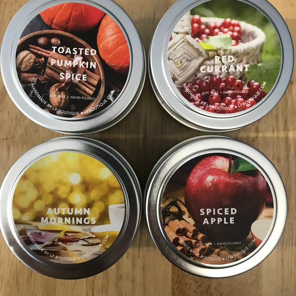 Toasted Pumpkin Spice Journey Candle Tin
