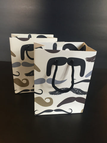 Mustache Small Gift Bag