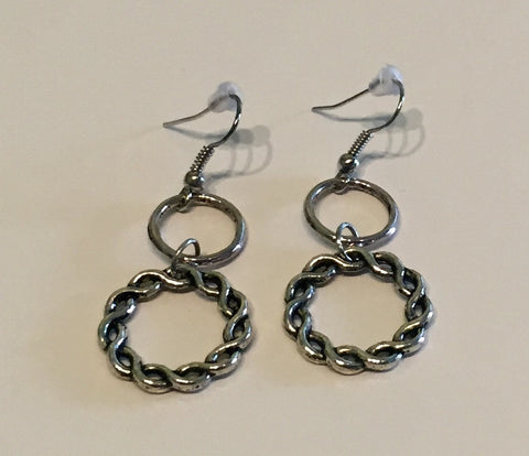 Celtic or Knot!? Hoop Earrings