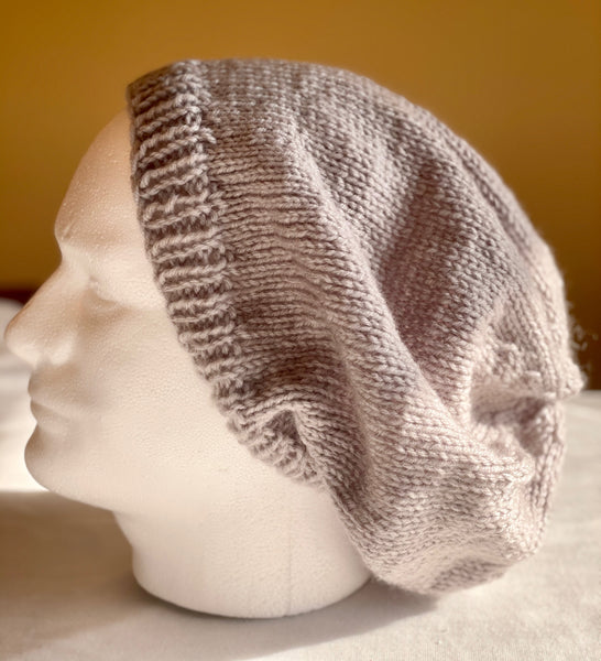 Hand Knitted Unisex XXL Slouchy Beanies