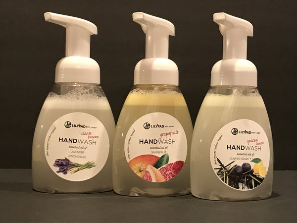 NEW Organic Castor Soap Foaming Hand Wash