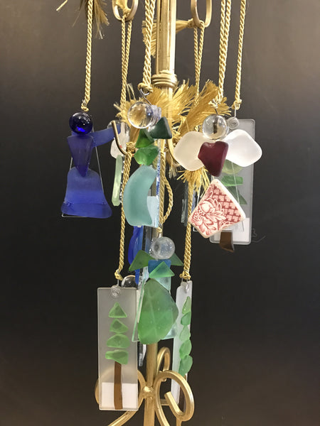 Artisan Made Lake Erie Beach Glass Ornaments