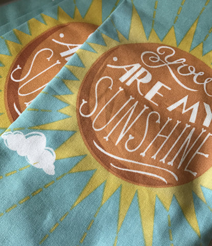 You Are My Sunshine Tea Towels
